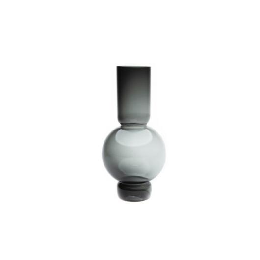 Fekete üveg váza