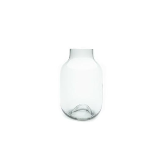 Füstüveg váza M-es méretben