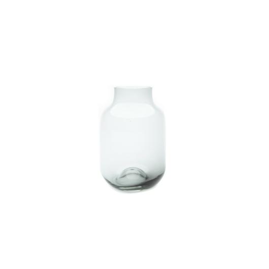 Füstüveg váza S-es méretben