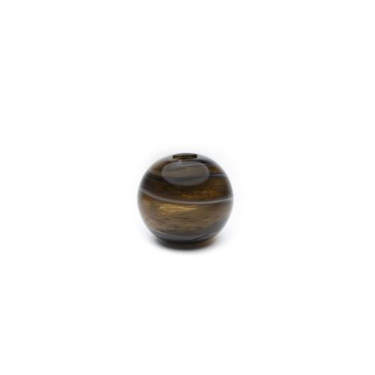 Barna gömb váza