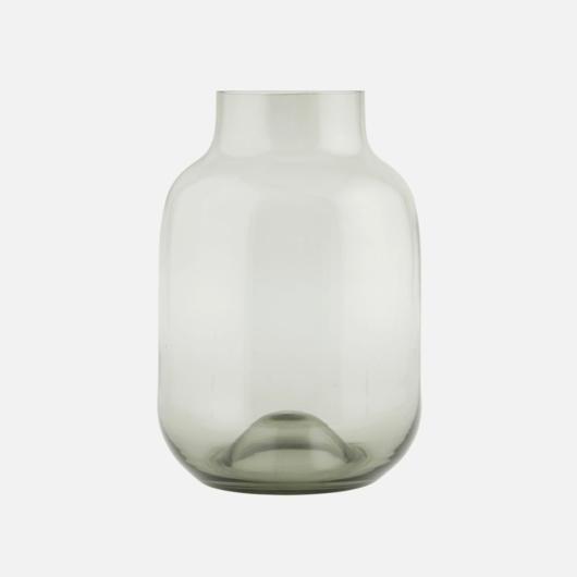 Füstüveg váza L-es méretben